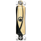Yocaher Lowrider Longboard Complete - Crest Onyx