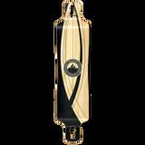 Yocaher Lowrider Longboard Deck - Crest Onyx