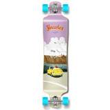 Yocaher Lowrider Longboard Complete - VW Beetle Series - Yellow