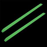 Yocaher Rails Ribs - Glow in the dark Green