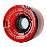 Speed Cruiser 62mm Longboard Wheels - Gel Red