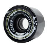 Speed Cruiser 62mm Longboard Wheels - Solid Black