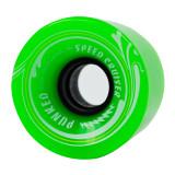 Speed Cruiser 62mm Longboard Wheels - Solid Green