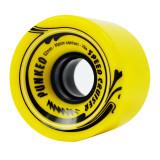 Speed Cruiser 62mm Longboard Wheels - Solid Yellow