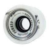 Speed Cruiser 62mm Longboard Wheels - Solid White