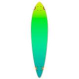 Yocaher Pintail Longboard Deck - Gradient Green