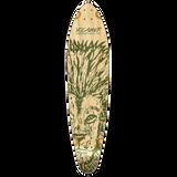 Yocaher Kicktail Longboard Deck - Spirit Animal LION