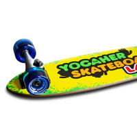 Yocaher Complete Micro Cruiser Skateboard Longboard  - CANDY Series - Sour