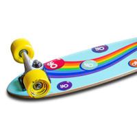 Yocaher Complete Micro Cruiser Skateboard Longboard  - CANDY Series - Sweet