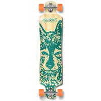 Lowrider Longboard Complete - Spirit Animal WOLF