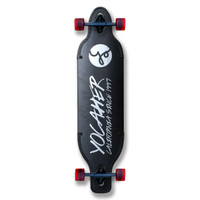 Yocaher Aluminum Drop Through longboard Complete - Black