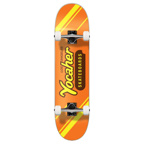 """Yocaher Complete Skateboard 7.75""""  - CANDY Series - PB & C"""