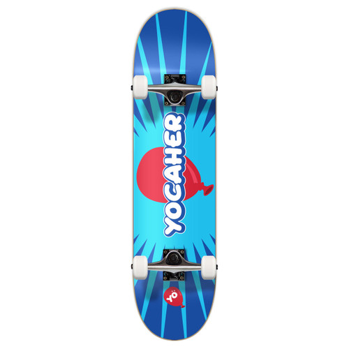 "Yocaher Complete Skateboard 7.75""  - CANDY Series - Pop"
