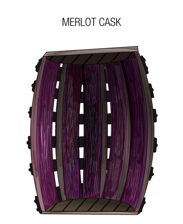 Merlot-Fass