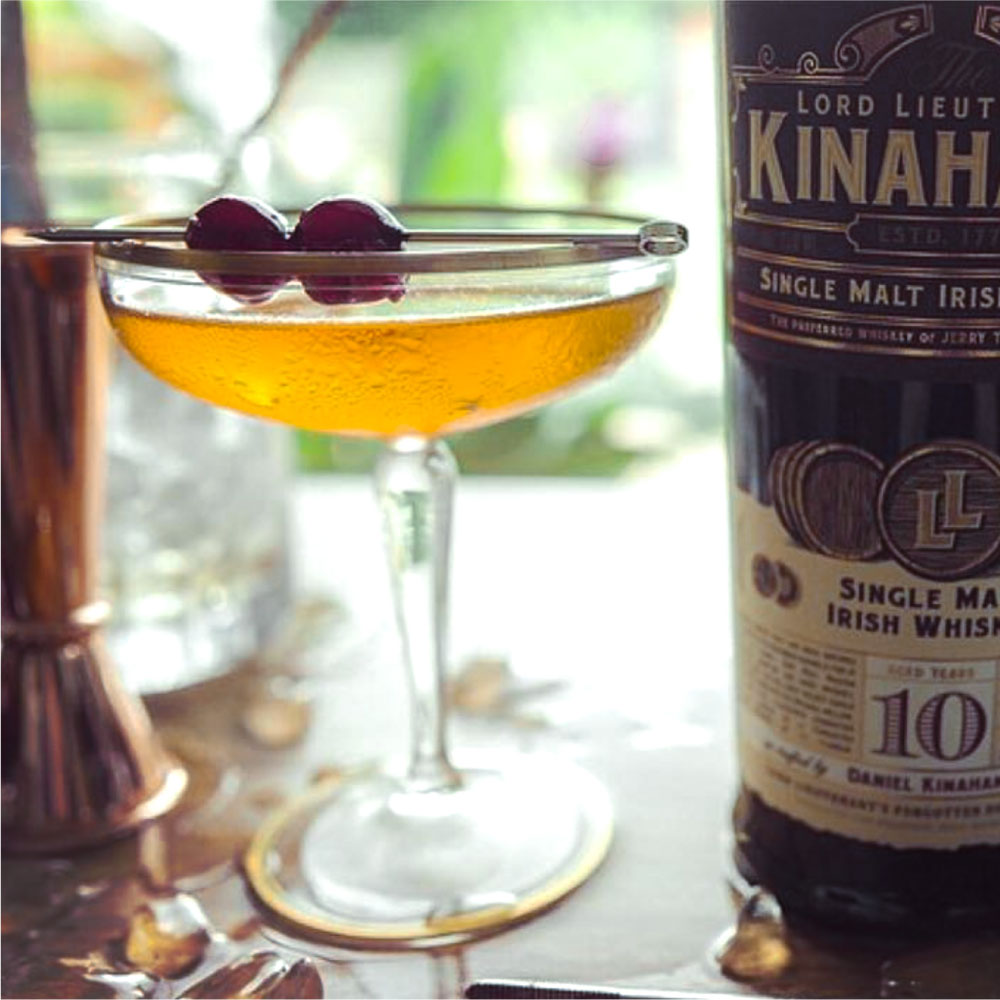 manhattan cocktail by Kinahans
