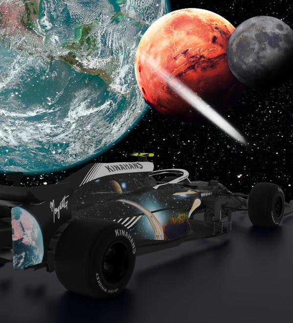 Formula One Racing Car [3D/AR] by Kinahan's