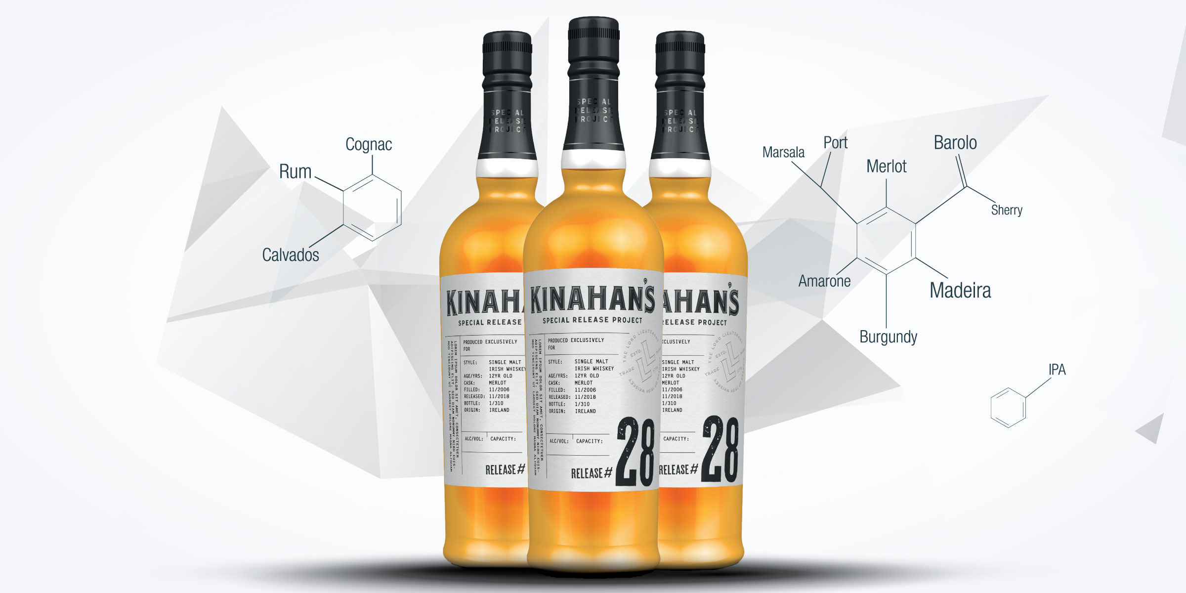 Kinahans whiskey special release project