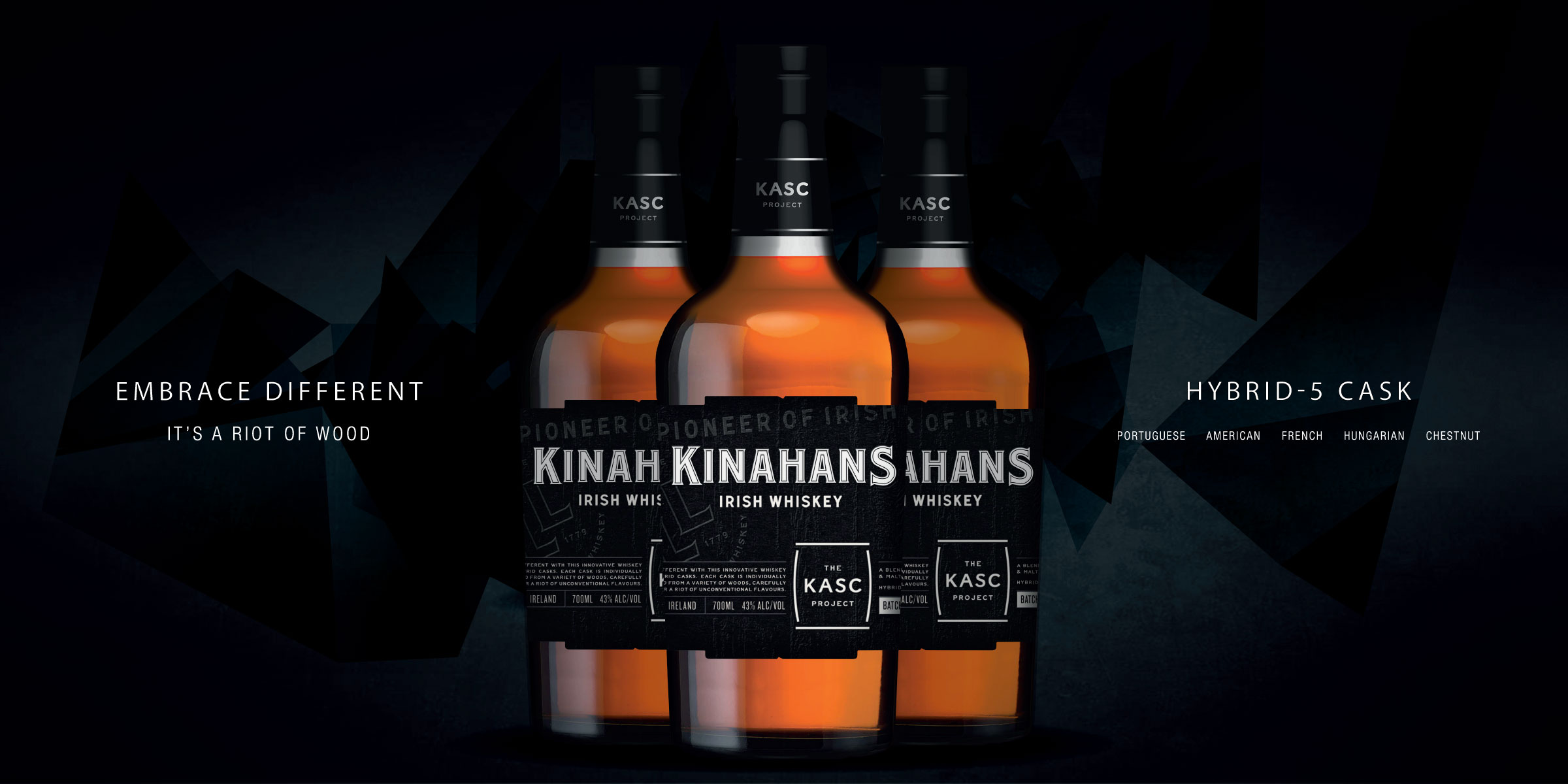 Kinahans whiskey kask project