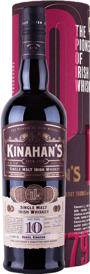 kinahans single malt 10 jahr alt whiskey