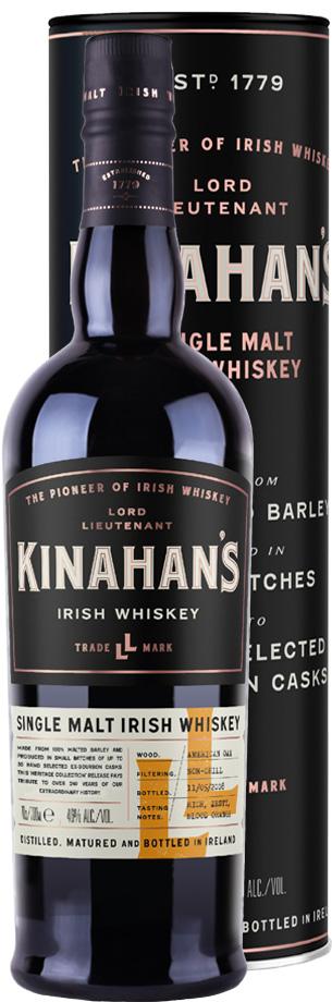 kinahans single malt heritage whiskey