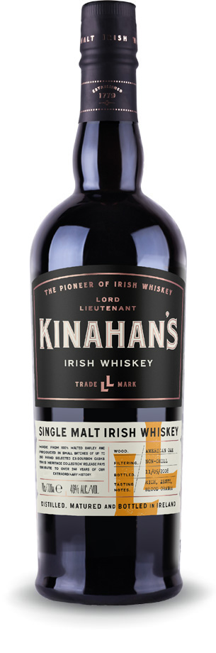 kinahans single malt heritage whiskey