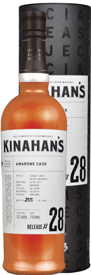 kinahans special release whiskey: Amarone-Fass