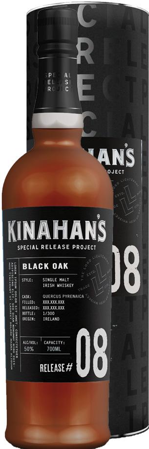 kinahans Sonderausgabe Whiskey: Black Oak