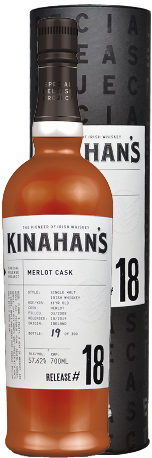 kinahans special release whiskey: Merlot-Fass
