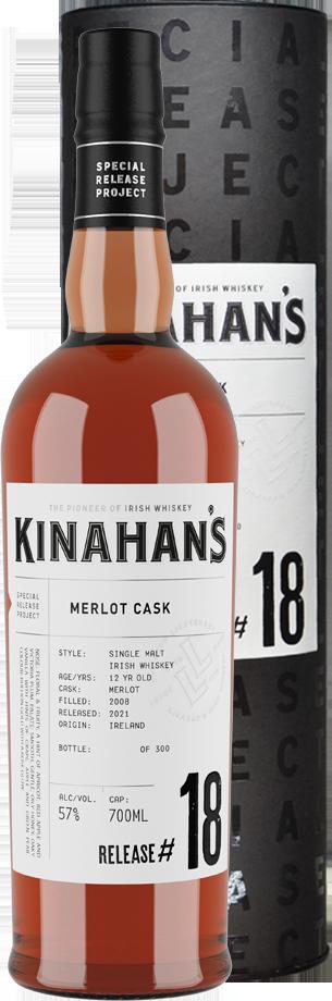 kinahans special release whiskey: Merlot Cask