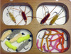 Gift Fly Box - Wooden - 40 Top Competition Flies