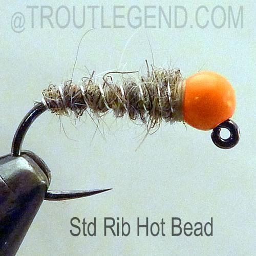 TLbugs Jig HaresEar (6 Fly Packs)