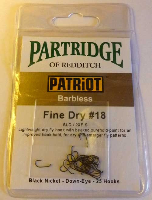 Partridge Patriot Fine Dry (25packs)