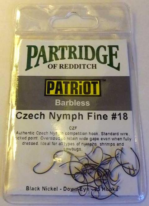 Partridge Patriot Czech Nymph fine (25packs)