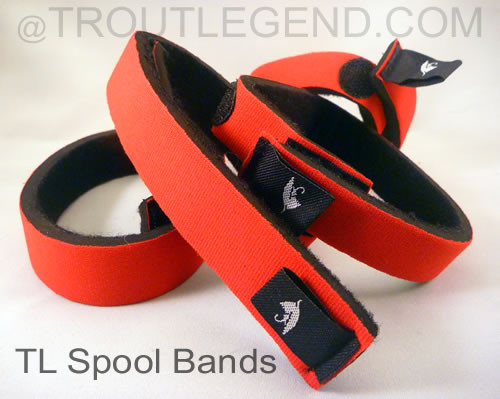 Spool Reel Neoprene Bands Keepers