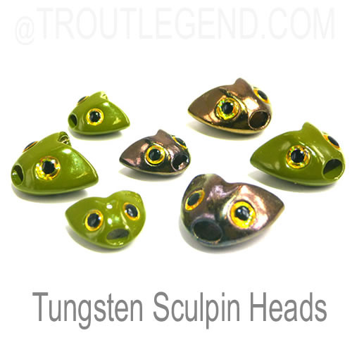TL Tungsten Sculpin Heads