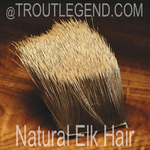 Natural Elk Hair