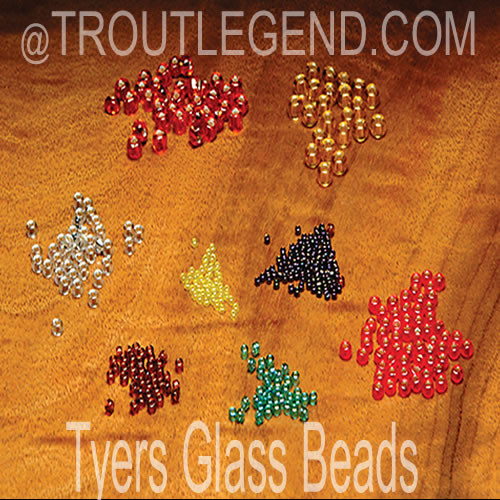 Tyers Glass Beads (Midge)