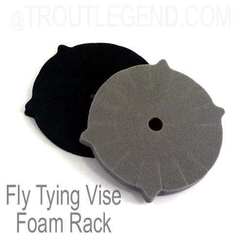 Fly Tying Vise Foam Rack