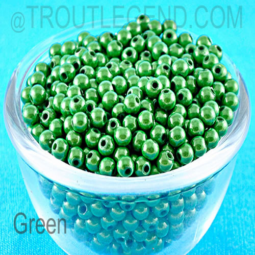 Miracle Plastic Beads 4mm (50packs)