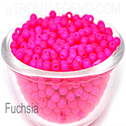 Neon Plastic Beads 4mm (50packs)