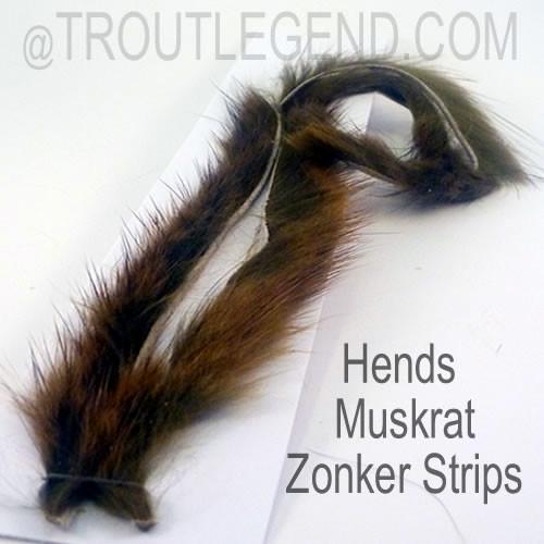 Hends Muskrat Zonker Strips 1.5mm