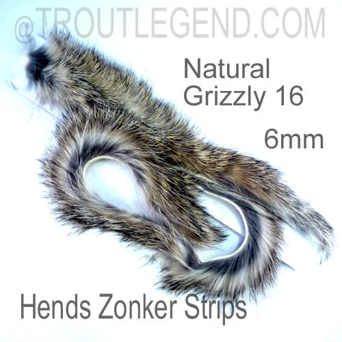 Hends Rabbit Zonker Strips 6mm