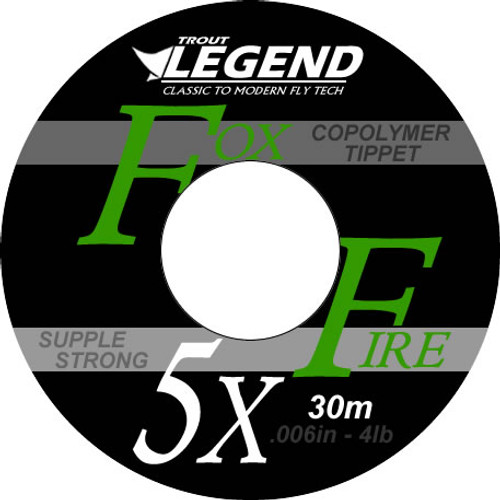 Fox Fire CoPolymer Tippet