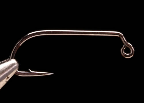 Daiichi 4647 60 Degree Heavy Jig Hook (Barbed)