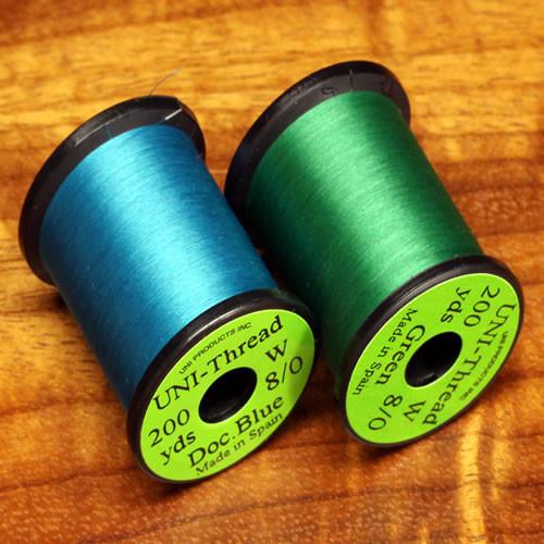 Uni-Thread Midge Waxed 8/0