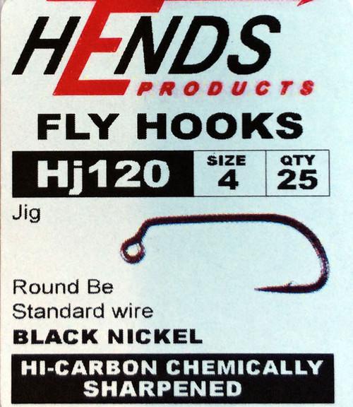 Hends HJ120 Barbed Jig Hook (25packs)