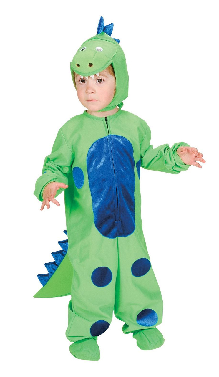 a6ea2f2552344 LITTLE DINOSAUR dragon reptile animal boy toddler kids halloween costume 2T  - 4T