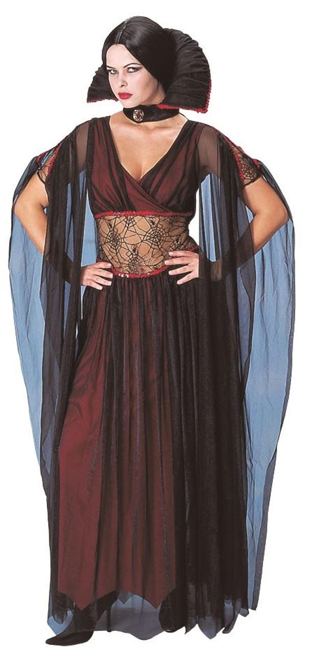 EVIL COUNTESS VAMPIRE sexy womens halloween costume O/S ...