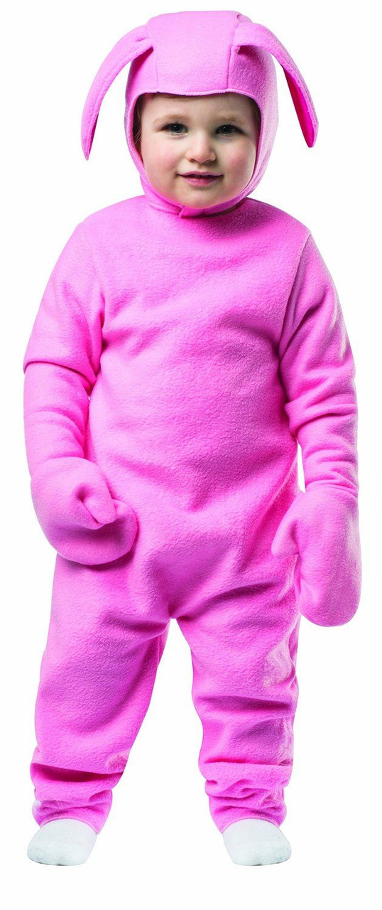 d30f48fe79 PINK BUNNY SUIT kids pjs Christmas Story ralphie halloween ...