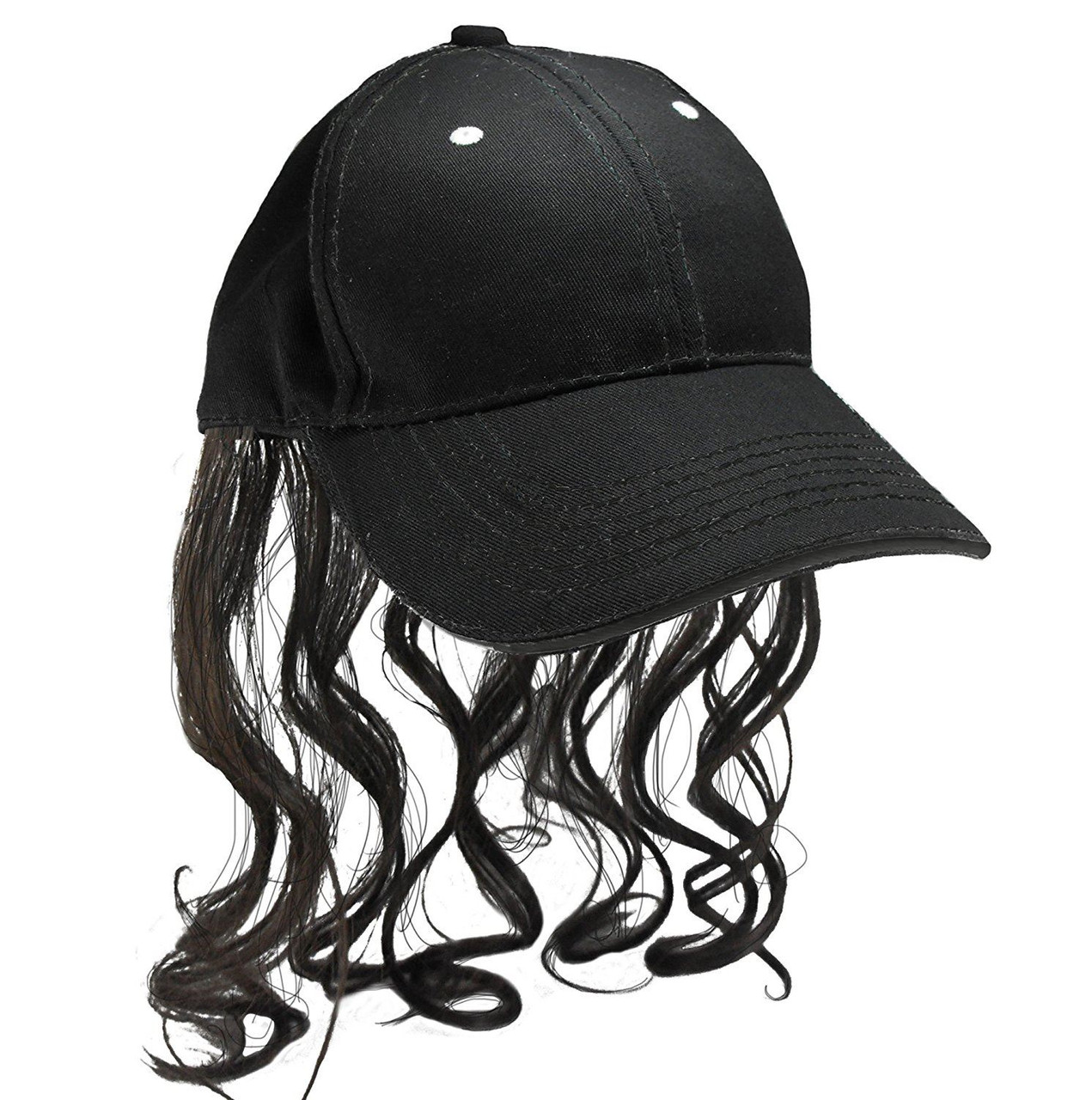Billy Ray Mullet Hat Gray Platinum wig Hat hillbilly halloween costume
